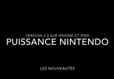 New Puissance Nintendo update is available…