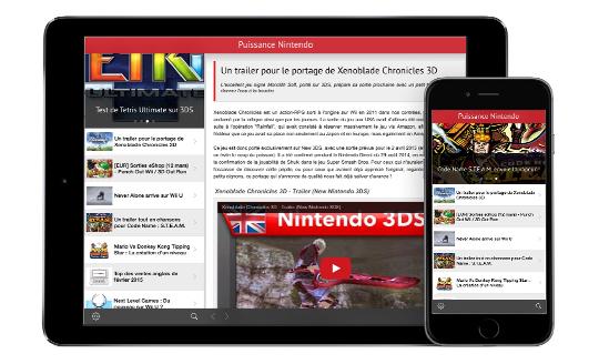 Lancement de Puissance Nintendo sur l'App Store